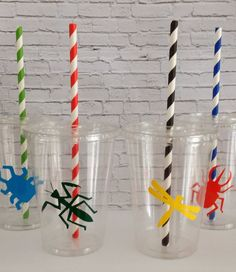 I think I could make this 12 oz. Insect Party Cups Set of 12 by WoodBeDesigns on Etsy, $14.00