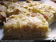 Butterkuchen - buttercake