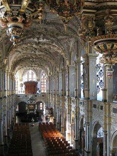 Baroque Chapel, Hillerod Castle, Denmark...