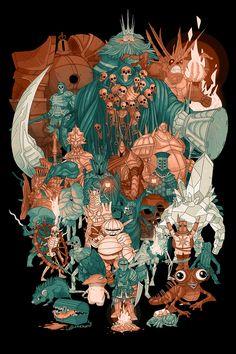 Here's a Dark Souls print I will be debuting at Forest City ComiCon(London, Ontario) on Sunday, October I had a blast creating thi. Dark Souls - Prepare to Die Dark Souls 3, Arte Dark Souls, Bloodborne, Dark Fantasy, Fantasy Art, Dibujos Dark, Soul Saga, Fan Art, Video Game Art