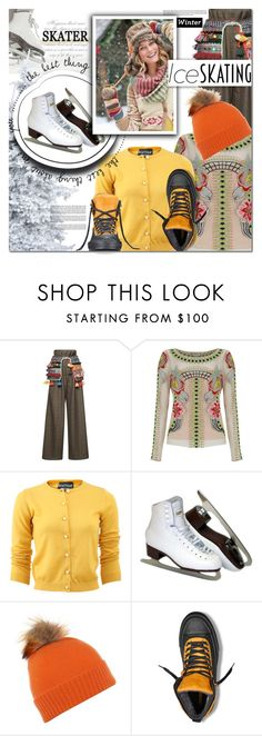 """So Cute: Ice Skating Style"" by barbarela11 ❤ liked on Polyvore featuring Stella Jean, Temperley London, Boutique Moschino, Helen Moore, Converse, Winter, polyvoreeditorial and iceskatingstyle"