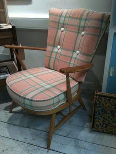 Ercol Blondewood Evergreen Armchair. £265.00, via Etsy.