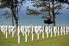 Cimetière américain - Omaha Beach - Calvados, Normandie, France