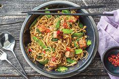 Yakiudon Tofu Noodle Stir-fry Recipe | HelloFresh
