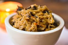 Sauerkraut with Forest Mushroom 32 oz Christmas Eve Sauerkraut with Mushroom Gourmet Recipes, Cooking Recipes, Healthy Recipes, Hunters Stew, Bo Bun, Mushroom Stew, Christmas Dishes, Christmas Appetizers, Diet