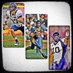 Former Cal Bears Chris Conte, Aaron Rodgers, and Desmond Bishop, via Cal_Football on Instagram.