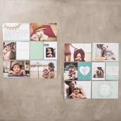 Hello Baby Boy Project Life Bundle by Stampin' Up!