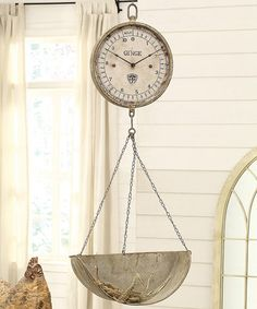 Look what I found on #zulily! Scale Wall Clock #zulilyfinds