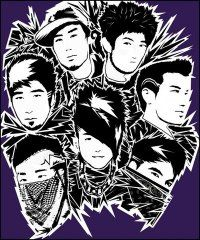 quest crew, cartoon,