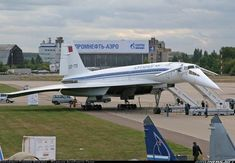 Photo taken at Ramenskoye (Zhukovsky) (UUBW) in Russia on August Tupolev Tu 144, Supersonic Aircraft, Helicopter Cockpit, Cool Pictures, Cool Photos, Russian Plane, Passenger Aircraft, Chatsworth House, Aviation Industry