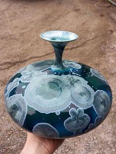 Matt Horne Cristalene vase