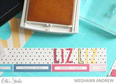 See how Meghann Andrew used the new Jordan Alphabet stamps on her layout featuring the Elle's Studio Thankful collection!