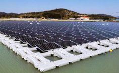 BioOrbis: Japão inaugura duas megaplataformas solares flutua...