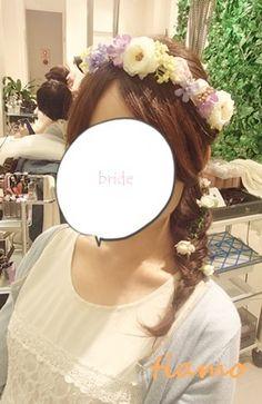 外国人風のルーズな編み込みスタイルやフワッとした印象を目指す方には!! の画像|大人可愛いブライダルヘアメイク『tiamo』の結婚カタログ