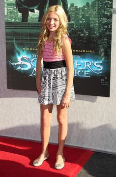 Peyton List Photos - Celebrities attending the special screening of 'The Sorcerer's Apprentice' to benefit the Creative Visions Foundation at the Walt Disney Studios Main Theatre, Burbank, CA. - 'The Sorcerer's Apprentice' Benefit Screening