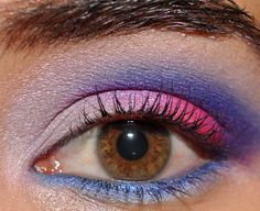 Bright Makeup: The Violet Glow