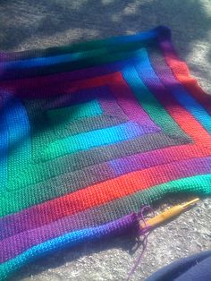 Ravelry: Project Gallery for Tunisian Crochet Ten Stitch Blanket pattern by Dedri Uys