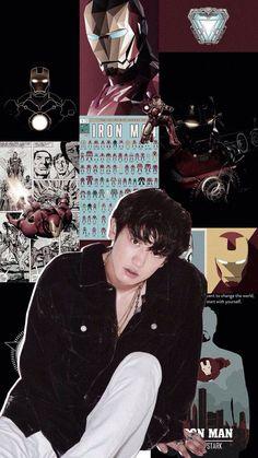 exo layouts — — exo wallpaper chanyeol and iron man Kyungsoo, Park Chanyeol Exo, Bts Aesthetic Wallpaper For Phone, Aesthetic Wallpapers, Exo Stickers, Aesthetic Lockscreens, Iron Man Wallpaper, Exo Lockscreen, Chanbaek