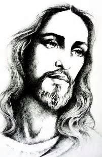 Image result for Easy Jesus Drawings in Pencil