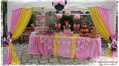 ΣΤΟΛΙΣΜΟΣ ΒΑΠΤΙΣΗΣ - MINNIE MOUSE - ΚΩΔ:MINNIE-1139 Minnie Mouse, Birthday Cake, Birthday Cakes, Cake Birthday