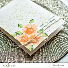 This 3-layer Daisy stamp will help you create beautiful cards, tags or any other paper crafting project. Cute, affordable, and a great addition to our Vintage Flowers set. Stamping guide is included o