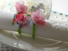 homework: Celebrations: spring napkin rings
