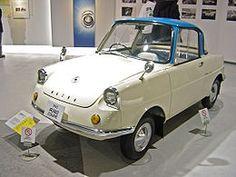 Mazda R360 Coupe, designed by Jiro Kosugi, 1960