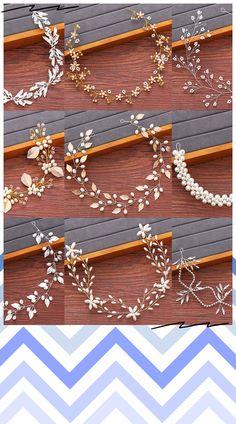 Tiara Headbands, Pearl Headband, Wedding Hair Accessories, Jewelry Accessories, Hair Jewelry, Women Jewelry, Hair Brooch, Bride Tiara, Fancy Jewellery