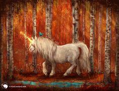 Year of the Unicorn: Autumn by kirileonard