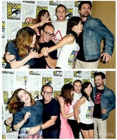Agents of Shield cast being goofy at SDCC 2014