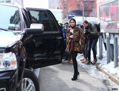 New York Fashion Week F/W 2014-15 - Miroslava Duma