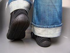 Die Länge der Füße richtig messen Senmotic Manufaktur