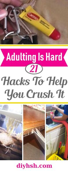 21 Life Changing Hacks | DIY Home Sweet Home