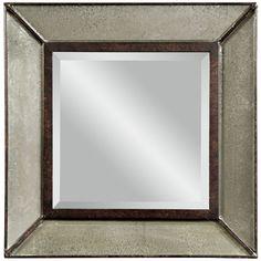 Bassett Mirror Edinborough Wall Mirror M3301BEC