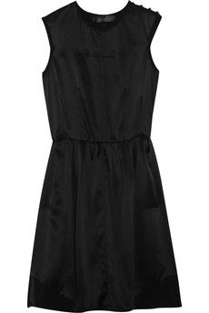 Proenza Schouler|Washed-silk dress|NET-A-PORTER.COM - StyleSays