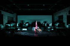 Am Königsweg// Staatstheater Karlsruhe // 2016 // Regie: Sláva Daubnerová Set Design, Stage, Lighting, Opera, Karlsruhe, Pictures, Stage Design, Stage Equipment, Lights