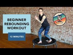 Leg And Glute Workout, Rebounder Workout, Mini Trampoline Workout, Beginners Cardio, Fitness Workout For Women, Rebounding, Walking Exercise, Trampolines, Weight Loss