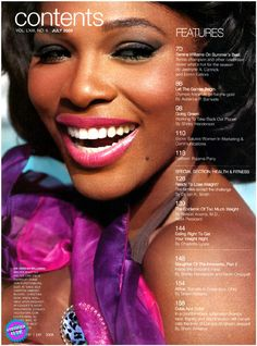 Serena Williams for Ebony Magazine