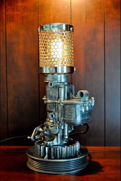 40's vintage carburetor lamp