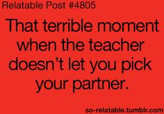 Too true!  I have so seen this look on my students' faces before - haha