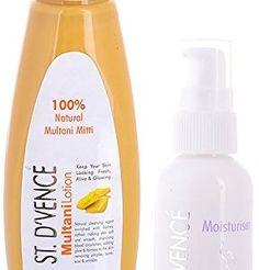STDVENC-Multani-Mitti-Lotion-with-Natural-Rose-Water-100ml-ST-DVENC-Body-Moisturiser-with-Aloe-Vera-Vitamin-E-London-UK-50ml-Combo-Pack-0