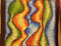 middle school art projects ideas   Bits and Pieces of Middle School: Optical Illusion Art