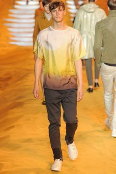 Fendi Spring 2014 Menswear Collection Slideshow on Style.com