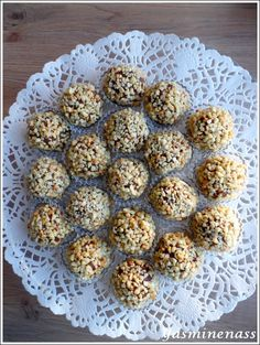 Rochers aux amandes et chocolat (sans cuisson) - A l'orée des douceurs