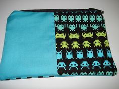 Space Invaders Zipper Pouch SOLD