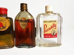 collezione set vintage anni 30-40 antiche bottiglie di danycoty