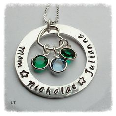 A personal favorite from my Etsy shop https://www.etsy.com/listing/225086461/sterling-silver-hand-stamped-mothers