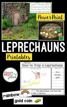 Patrick's Day Leprechaun Trap and PowerPoint Kindergarten Social Studies, Kindergarten Activities, Leprechaun Trap, Teaching Themes, Thematic Units, Writing Paper, Math Resources, Critical Thinking, Early Childhood