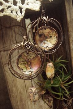 Altered Alchemy, Mixed Media Jewelry by Luthien Thye