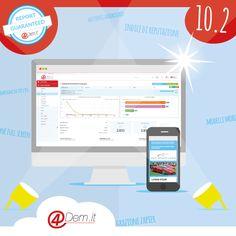 4Dem versione 10.2, email marketing senza limiti di banda.